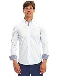 GALVANNI Balt, Camisa Casual para Hombre