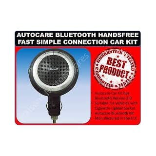 Autocare Hands Free In Car Simple Connection Easy Pair Bluetooth Kit
