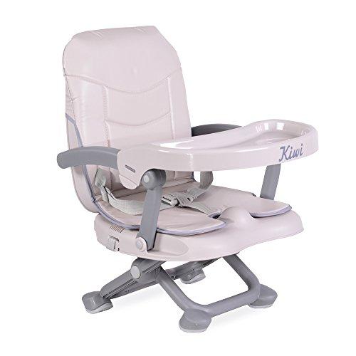 Kinderstuhl Kiwi, Kinder Stuhl-, Sitzerhöhung, Boostersitz, Tisch, klappbar beige