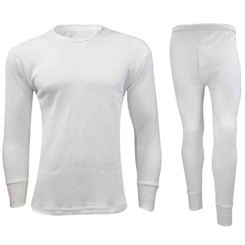 MEN/'S THERMAL FULL SET UNDERWEAR SHIRT TOP VEST /& LONG JOHNS TROUSER BASE LAYER