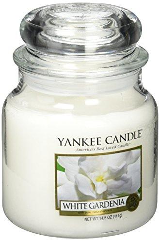 Yankee Candle 1230626 Bougie Parfumée Gardénia Blanc