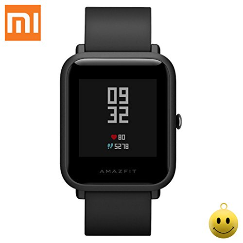 Original Xiaomi Amazfit Bip Huami Mi Smartwatch Monitor de ritmo cardíaco en tiempo real Resistente al agua Sports FitnesTrackers Youth Edition International Version