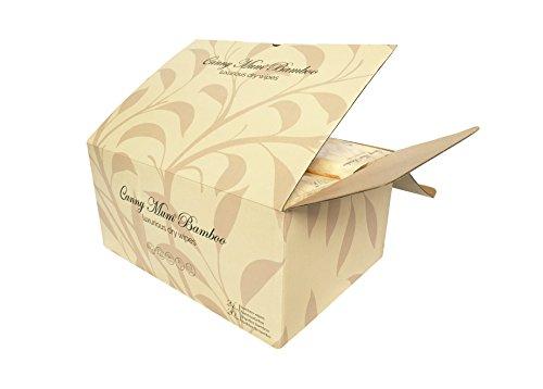 CannyMum Luxuriöse Trockene Tücher oder selbstgemachte Feuchttücher aus Bambus. (480 Tücher) Biologisch abbaubar -