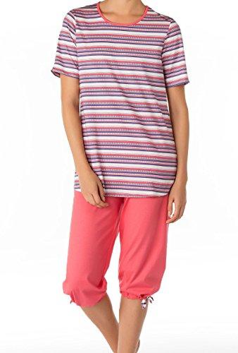 Calida Portland 3/4-Pyjama Damen blue-style