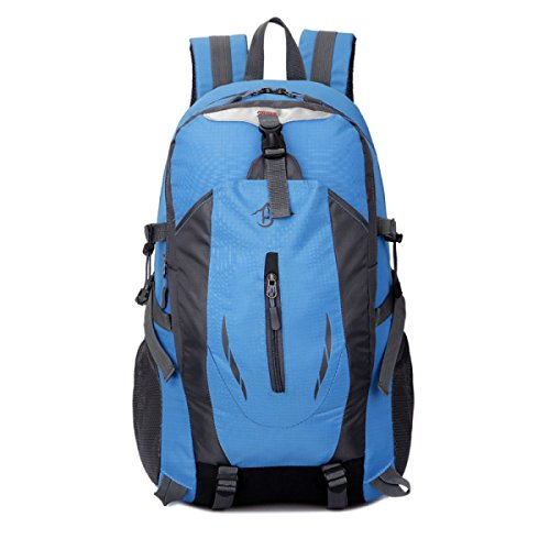 Outdoor Bergsteigen Rucksack Multifunktions Sport Schulter Tasche Blue