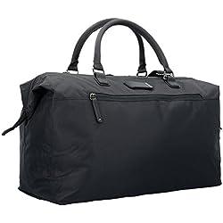 Roncato Metropolitan Bolsa de Viaje, 38 cm, 50 litros, Negro