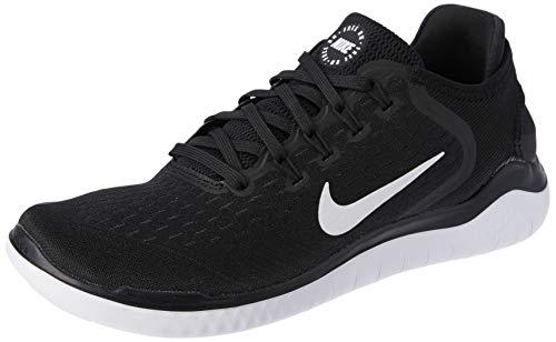 Nike Herren  RN 2018 Laufschuhe, Schwarz (Black/White 001), 42 EU