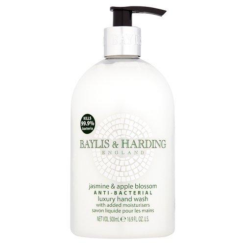 Baylis & Harding Jasmine and Apple Blossom Antibacterial Hand Wash, 500ml