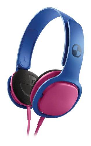 Philips SHO3300CLASH/28 O'Neill Cruz Headband Headphones Blue/Pink  available at amazon for Rs.2643