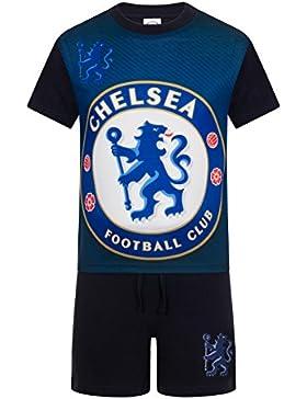 Chelsea FC - Pijama corto para niño - Producto oficial - Azul