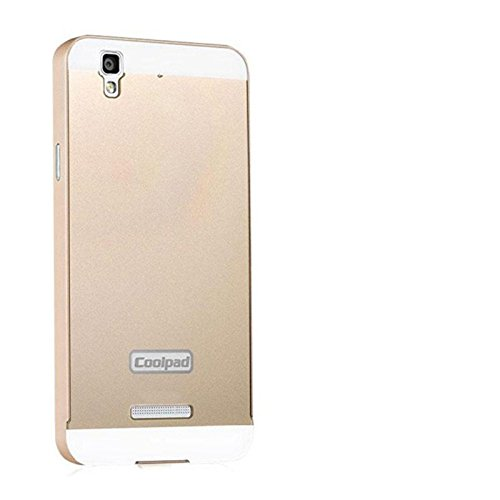 Luxury Aluminum Frame+Acrylic Back Cover Case Bumper For Micromax Yu Yureka