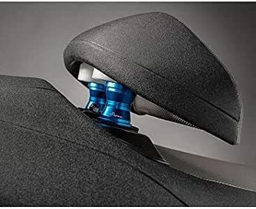 Tmax 500 e 530 coppia Nuovi Rialzi alluminio anodizzato blue x schienale sella conducente T max