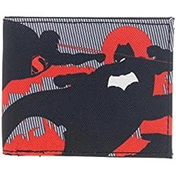 Batman vs. Superman Fighting Sublimation Bifold Billetera