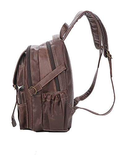 Lycailcy  LYC-Lycailcy-A10-3-15, Sac à main porté au dos pour femme marron Lock Light Brown(10.2 x 4.7 x 14.2 inches) Lock Lock Black(10.2 x 4.7 x 14.2 inches)
