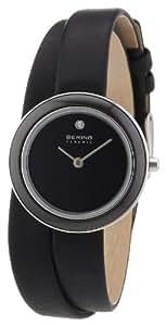 Bering Time Damen-Armbanduhr Ceramic Analog Quarz 33128-442