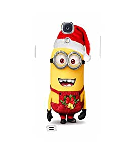 EPICCASE minion christmas Mobile Back Case Cover For Samsung Galaxy S4 (Designer Case)