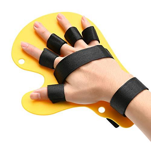 Slimerence - Diapasón ortopédico, Tabla de Entrenamiento de Dedos para Dedos y diapasón, Equipo médico de rehabilitación, Dispositivo de ortopedia de muñeca, Soporte de Dedo único