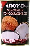 400ml KokosnussMILCH 17% Fettgehalt Aroy-D - ungesüßt - ohne Zusätze - KokosMILCH - AB 30,- EURO VERSANDKOSTENFREI in D!