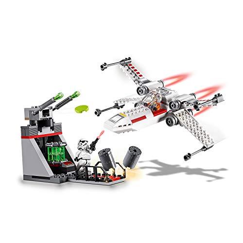 LEGO® Star WarsTM Chasseur stellaire X-WingTM de la tranchée Jeu 4 Ans et Plus, 132 Pièces 75235