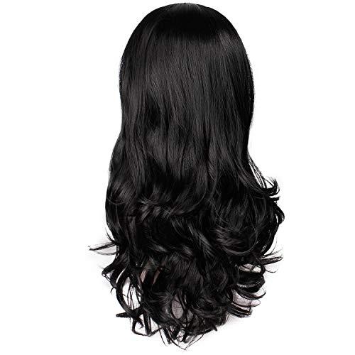 BURFLY Outdoor Frauen Natural Body Wave Haar Synthetische Hitzebeständige Perücke (24 '' ()