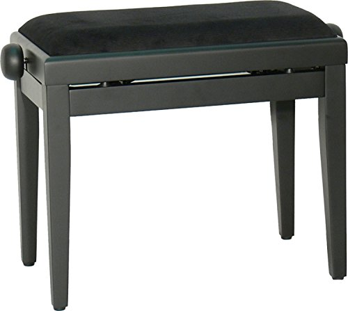 steinbach tabouret de piano noir mat piano buy online free. Black Bedroom Furniture Sets. Home Design Ideas