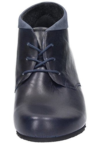 CUSHY Dr.Brinkmann Damen Ballerinas, Slipper, schwarz, 961455-1 blau