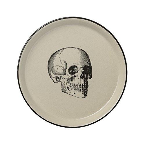 Skull Plate Ø 20 cm, 989 (Noir)