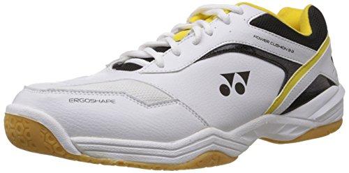 Yonex Power Cushion  Badminton Shoes, UK 9 (Black/Yellow)