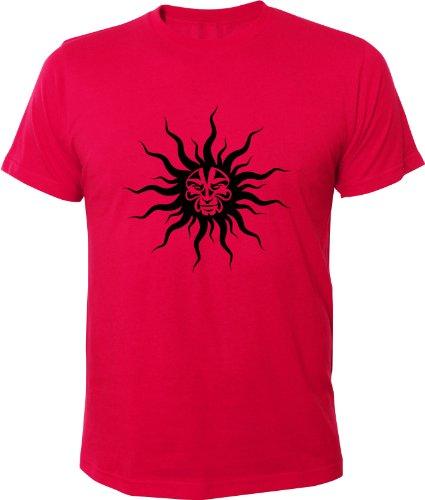 Mister Merchandise Cooles Fun T-Shirt Mad Sun Pink