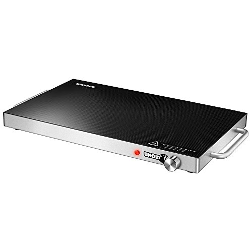 Unold WARMING PLATE Professional 200W Negro - Calentador de alimentos (200 W, 50/60, Negro, 350 mm, 570 mm, 40 mm)