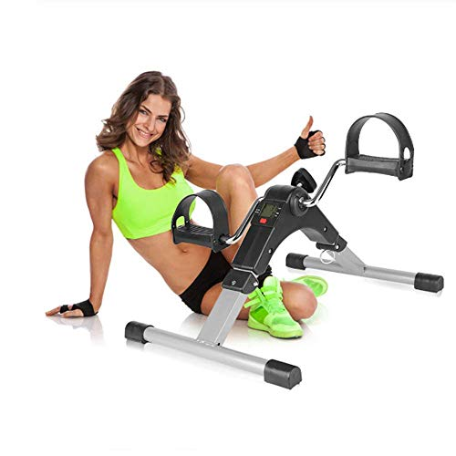 SISHUINIANHUA Tapis roulant Stepper Portatile Cardio Fitness Stepper Leg Machine Home Gym Esercizio Mini Spinning Bike Dimagrante brucia Grassi