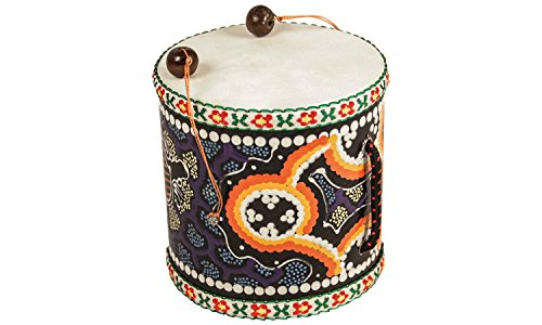 Erlebnis-Mittelalter - Trommel Handtrommel Klangtong Damasos Metallophon Tambourine (Klangtong Trommel)