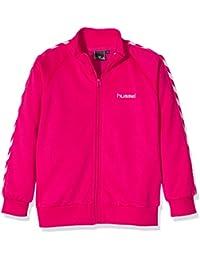 Hummel Chaqueta para niña Maria o.S. Zip Jacket rosa rosa brillante Talla:140