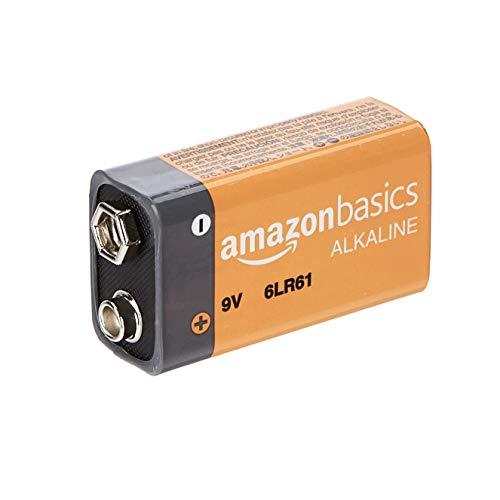 AmazonBasics Everyday Alkalibatterien 600 mAh, 9V, 8 Stück - 3