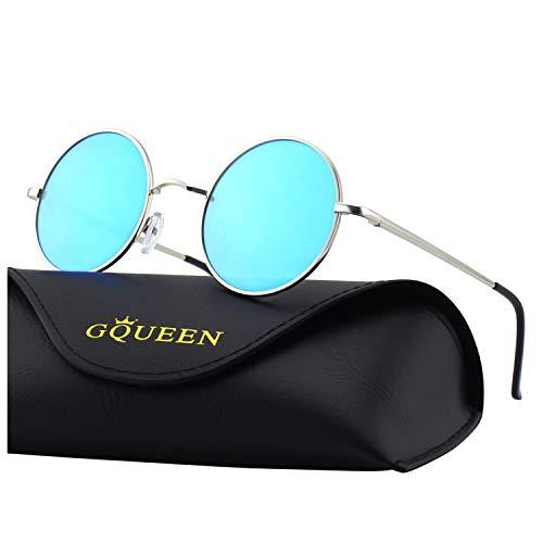 6113052929 Classic lennon ronda gafas de sol polarizadas con protección uv400 mez1