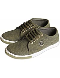 MG Solutions Men's Low Top Casual Shoes (United Shades) Sap Green