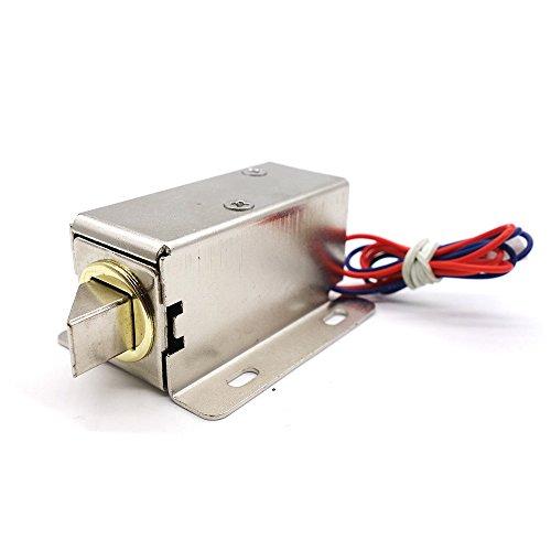 MoPei Cerradura de Puerta Electrónica, DC 12V Cerradura Eléctrica de