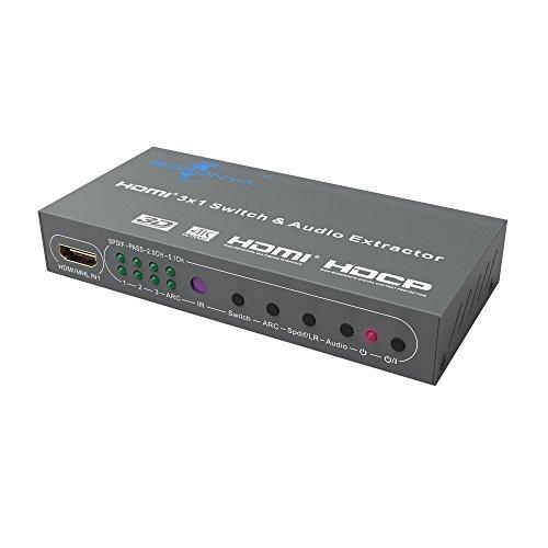 goronya 3y 5puertos MHL/HDMI Switch -- MHL/HDMI Switch con salida