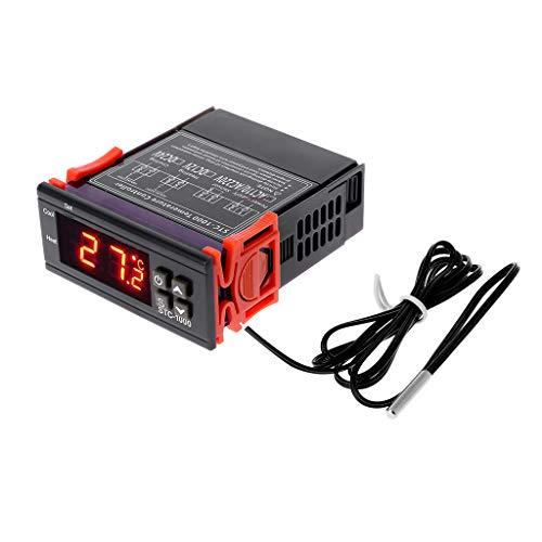 STC-1000 Digitale LCD-Anzeige Temperaturregler Thermostat Relais 110 V 220 V Heizung Kühlung Farm Device Sensor für Inkubator Zerkleinern - Heizung Kühlung Thermostat