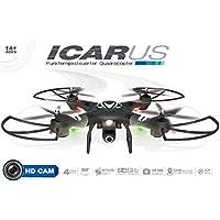 Maximum RC schwarzer XL RC Quadrocopter inkl. HD Kamera RC Drohne - ferngesteuerter Quadrocopter - ferngesteuerte Drohne