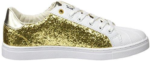 BASS3D 041301, Chaussures femme Doré