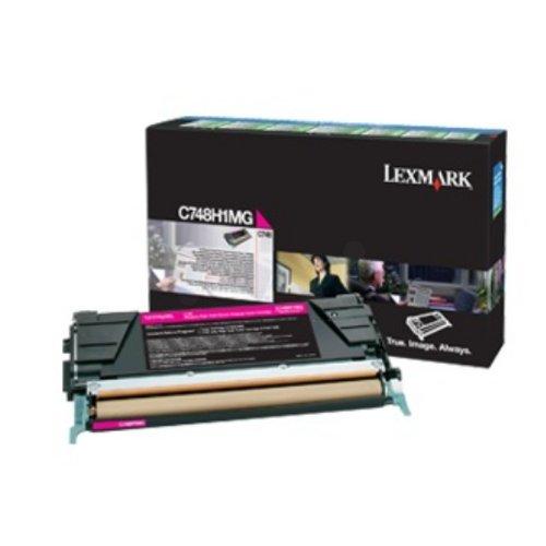 Preisvergleich Produktbild Lexmark C748H3MG Tintenpatrone für C748 magenta