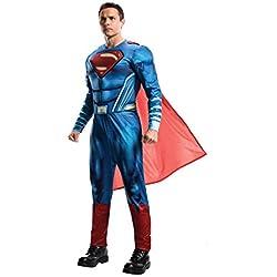 Superman - Disfraz Classic adultos, Talla única (Rubies Spain 820952)