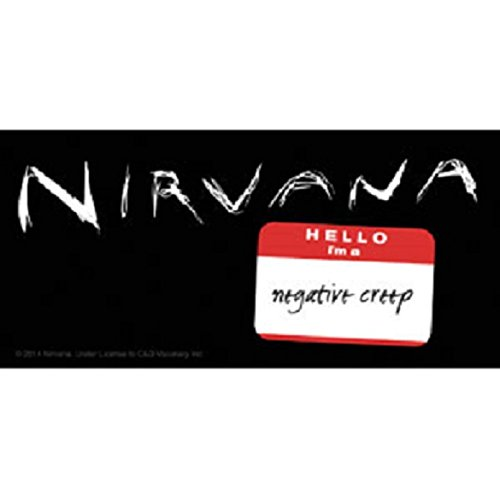 Nirvana Aufkleber Sticker Smiley Bands Musik Rock Grunge Kurt Cobain Rock'n'Roll Wings Flügel -