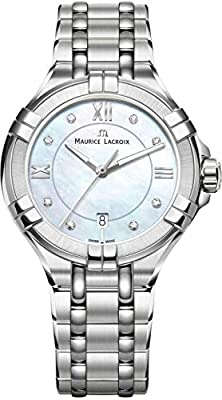 Maurice Lacroix AIKON AI1004-SS002-170-1 Wristwatch for women Swiss Made