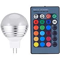 LEDMOMO 3W RGB LED Birne E27 Farbwechselglühlampe mit Fernbedienung AC85-265V preisvergleich bei billige-tabletten.eu