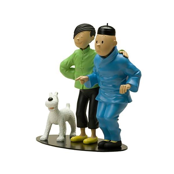Figura Hergé / Moulinsart La amistad entre Tintín y Tchang 45953 (2007) 1