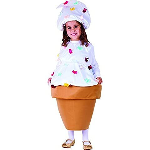Ice Cream Costume - Size Toddler 2 by Dressup America