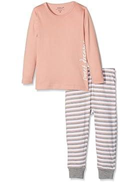 NAME IT Baby-Mädchen Zweiteiliger Schlafanzug Nmfnightset Rose Tan Noos