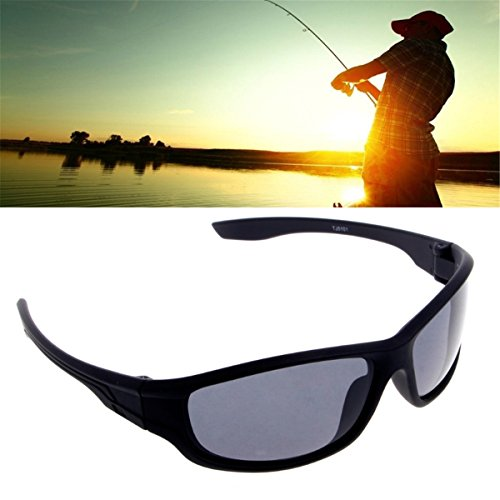 Outdoor Sports Polarized Sunglasses for Sports Fishing Driving Cycling Black Glasses